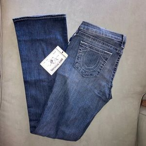 True Religion flared jeans - NEVER WORN